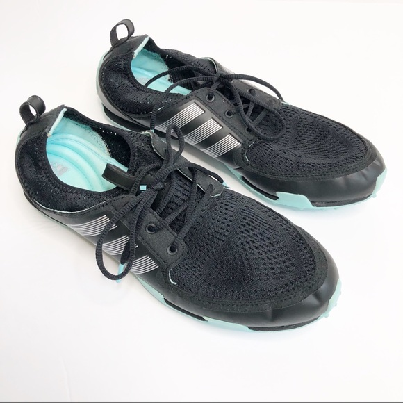 low priced de386 cfb30 Adidas Climacool Ballerina Golf Shoes Black Size 8